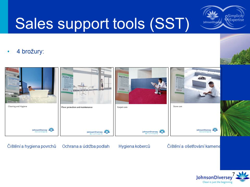 Sales support tools (SST)