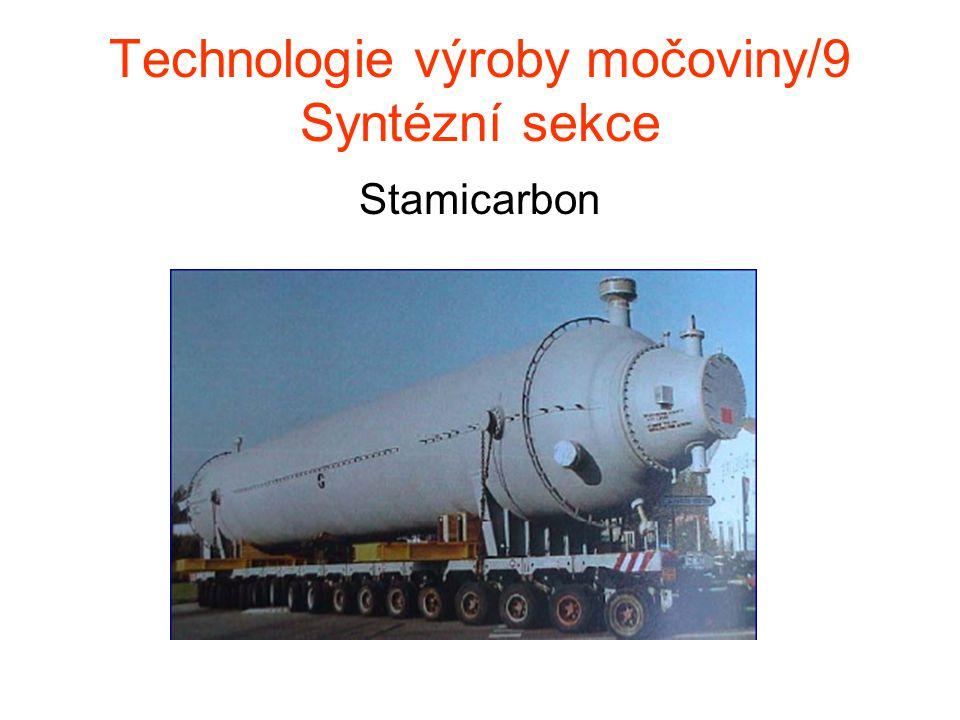 Technologie výroby močoviny/9 Syntézní sekce