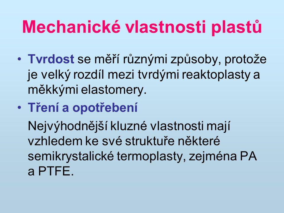 Mechanické vlastnosti plastů