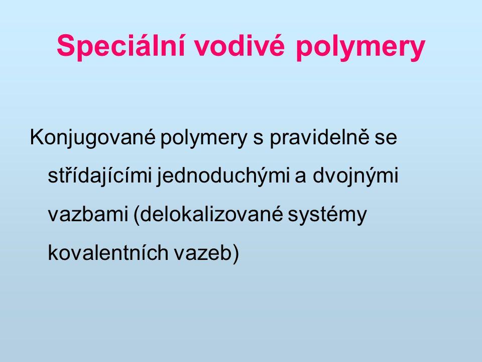 Speciální vodivé polymery