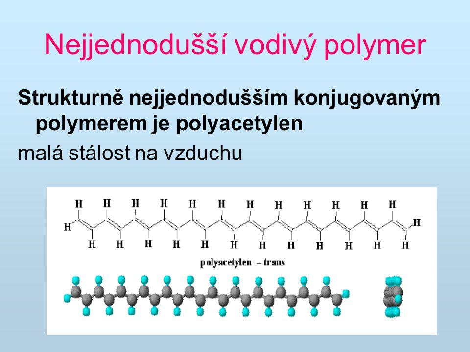 Nejjednodušší vodivý polymer