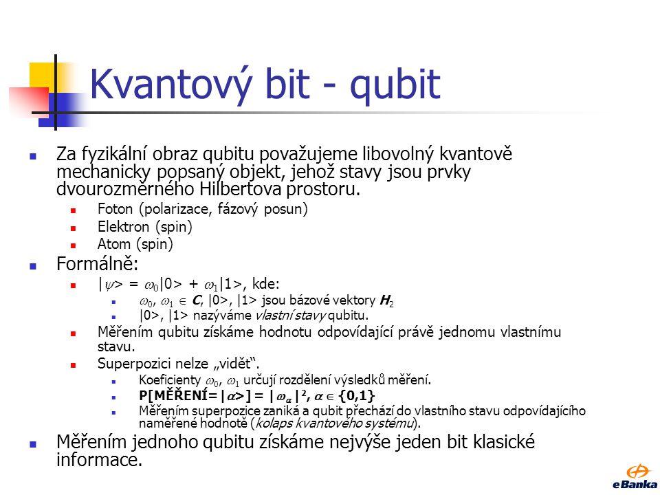 Kvantový bit - qubit