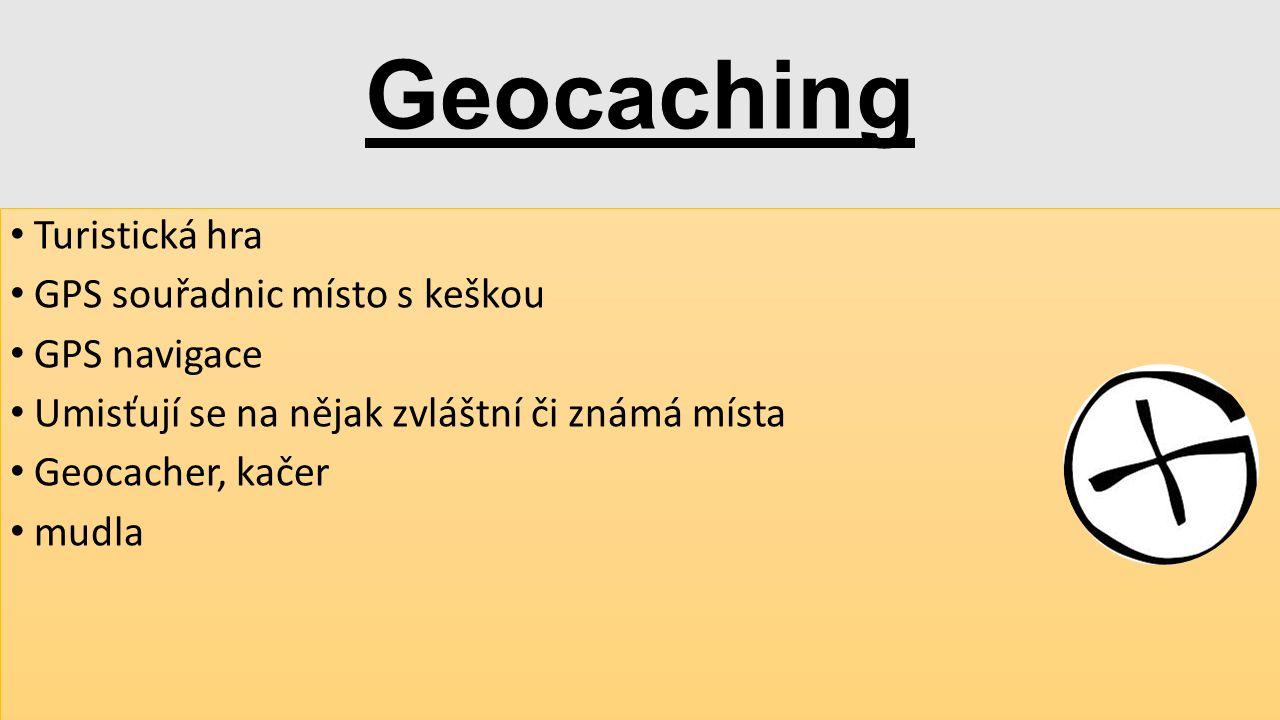 Geocaching Turistická hra GPS souřadnic místo s keškou GPS navigace