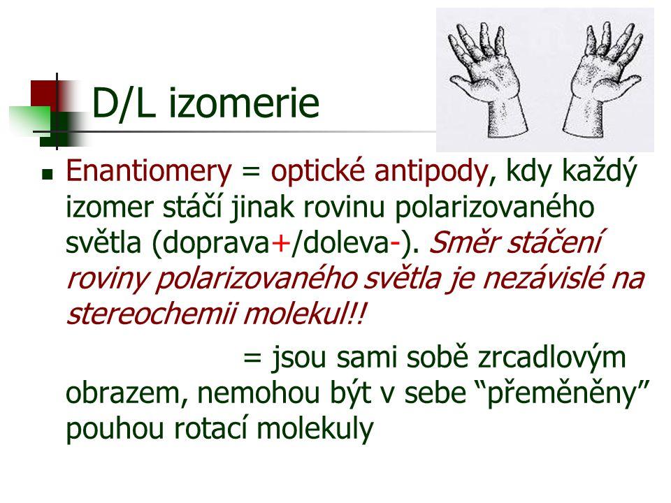 D/L izomerie
