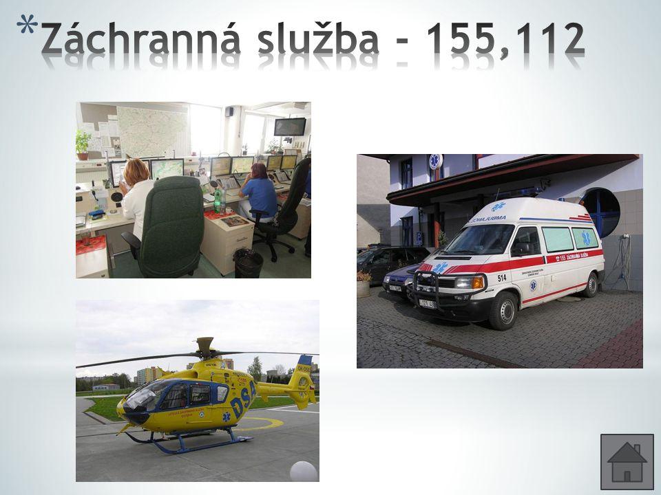 Záchranná služba - 155,112