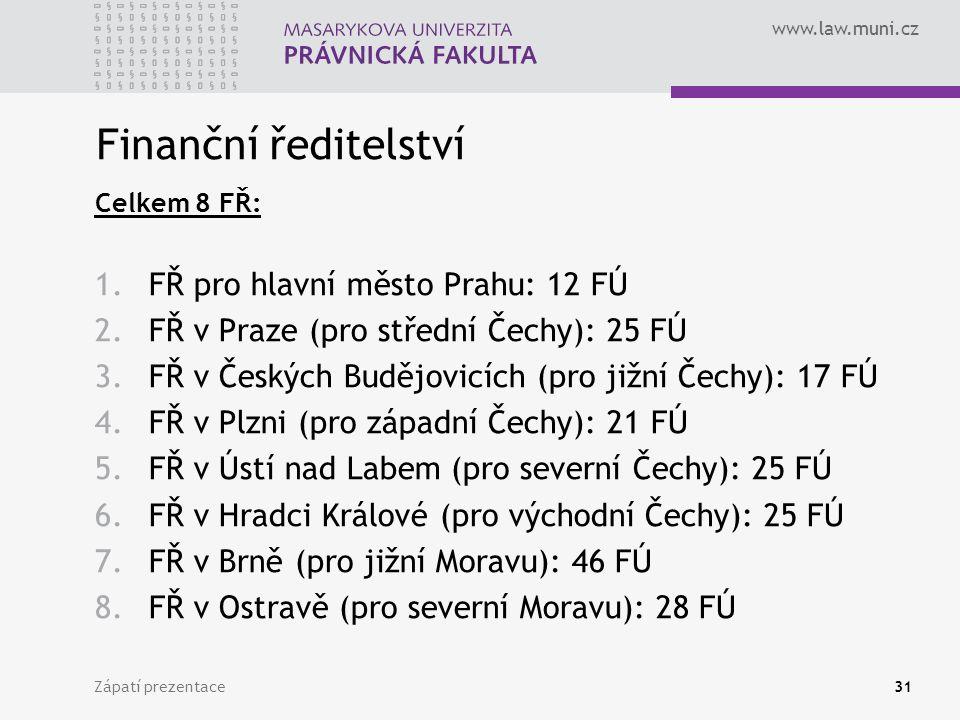 Finanční ředitelství FŘ pro hlavní město Prahu: 12 FÚ