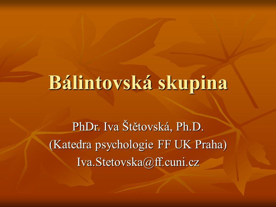 (Katedra psychologie FF UK Praha)