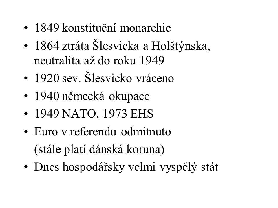 1849 konstituční monarchie