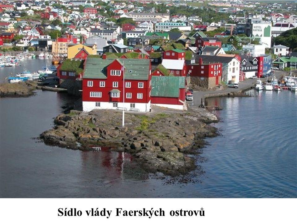 Sídlo vlády Faerských ostrovů