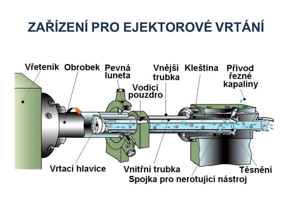 Zařízení pro ejektorové vrtání
