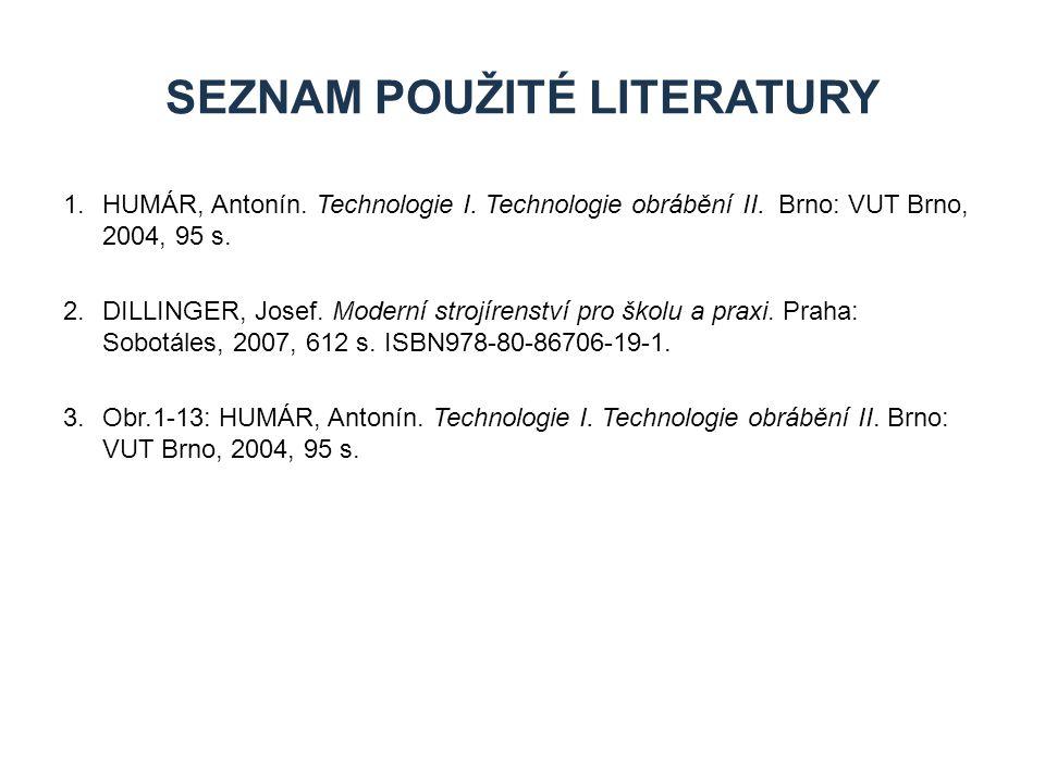 Seznam použité literatury