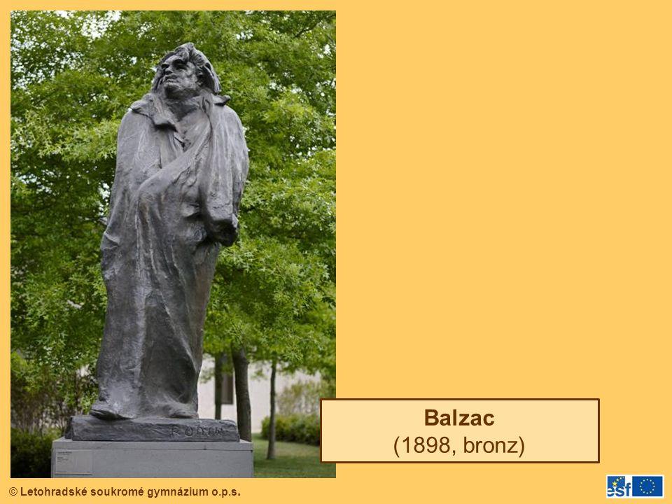 Balzac (1898, bronz)