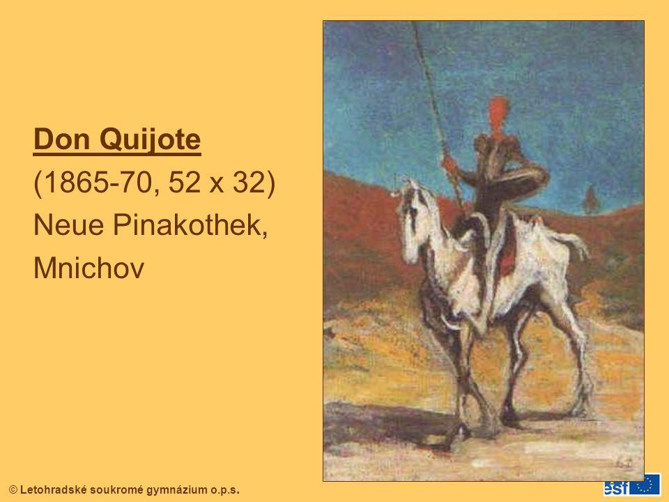Don Quijote (1865-70, 52 x 32) Neue Pinakothek, Mnichov