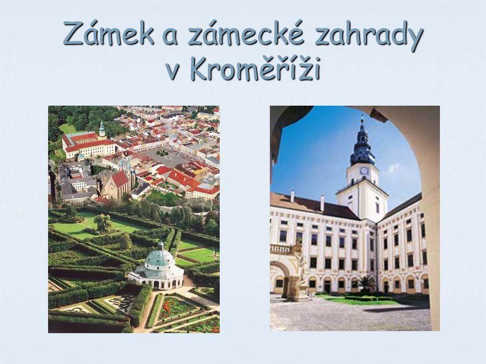 Zámek a zámecké zahrady v Kroměříži