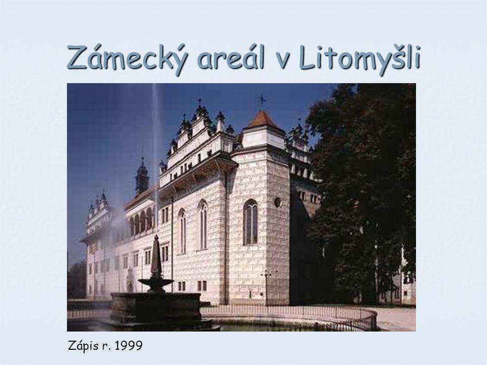 Zámecký areál v Litomyšli