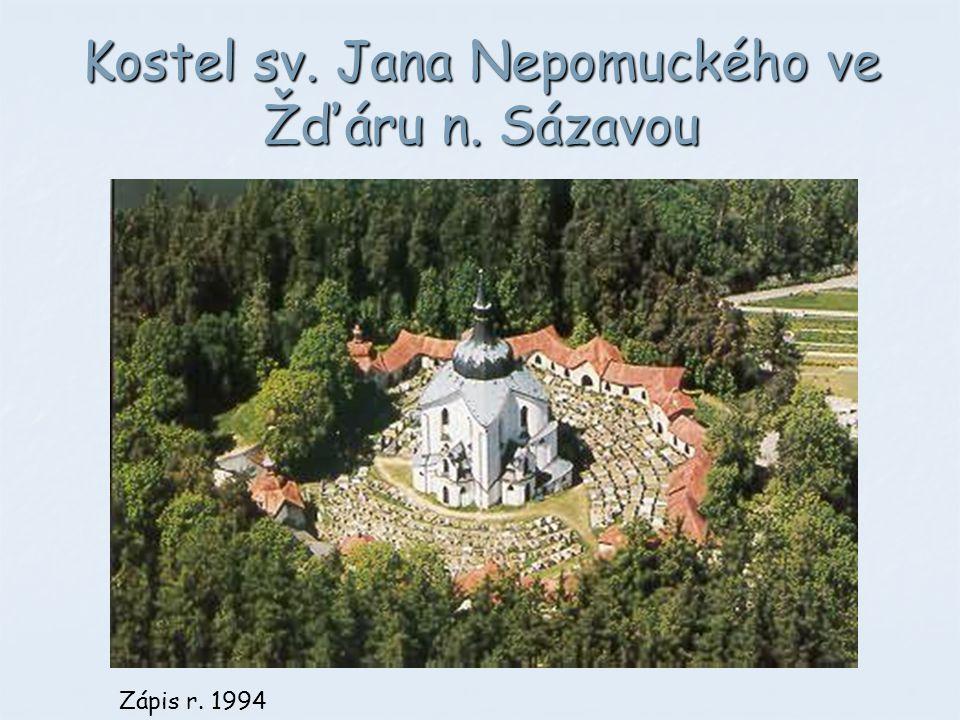 Kostel sv. Jana Nepomuckého ve Žďáru n. Sázavou