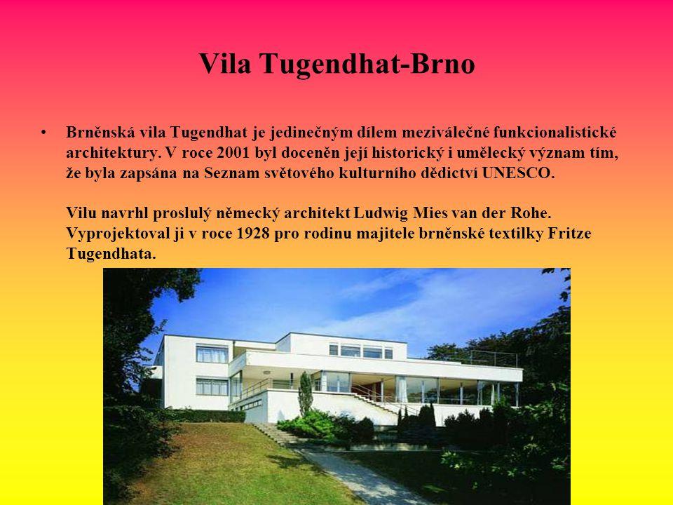 Vila Tugendhat-Brno
