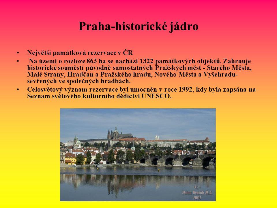Praha-historické jádro