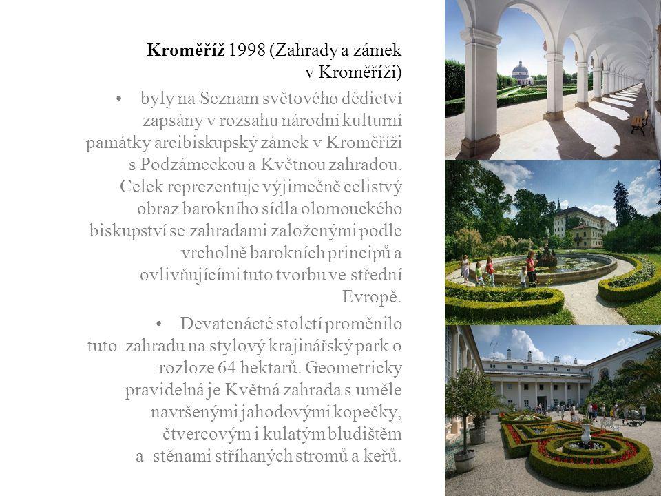 Kroměříž 1998 (Zahrady a zámek v Kroměříži)