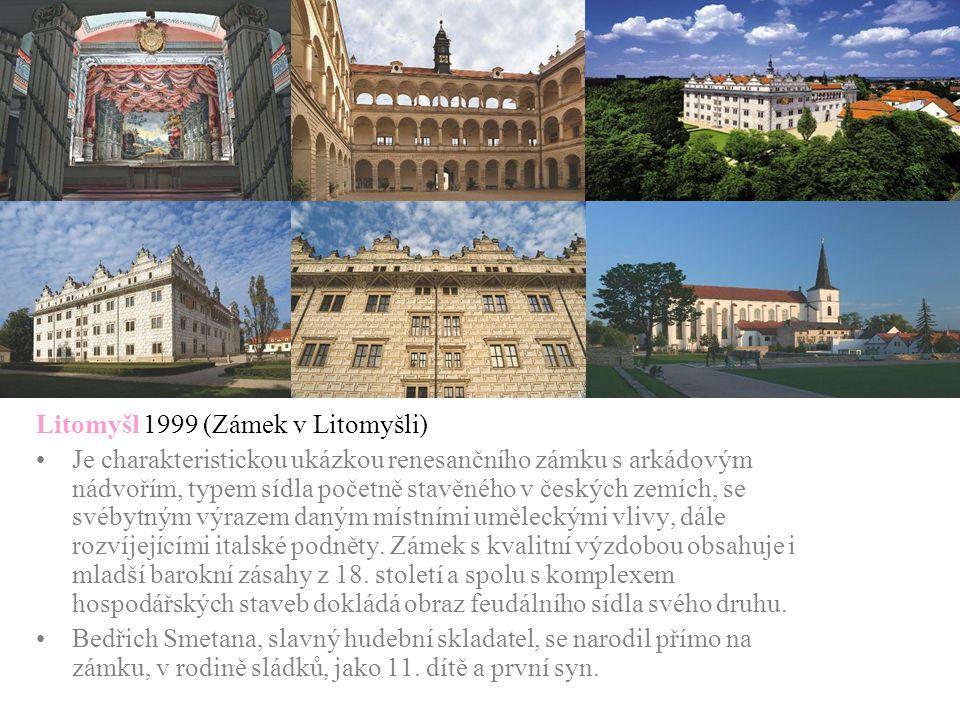 Litomyšl 1999 (Zámek v Litomyšli)