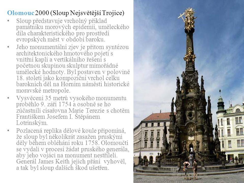 Olomouc 2000 (Sloup Nejsvětější Trojice)