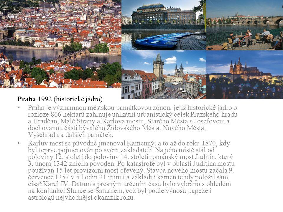 Praha 1992 (historické jádro)