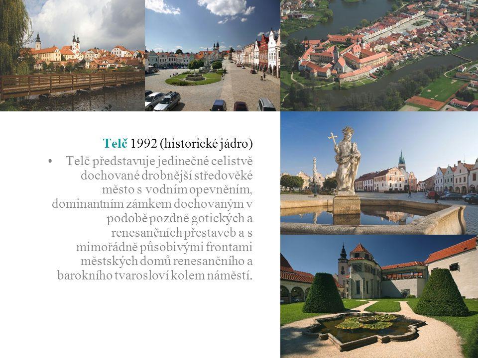 Telč 1992 (historické jádro)