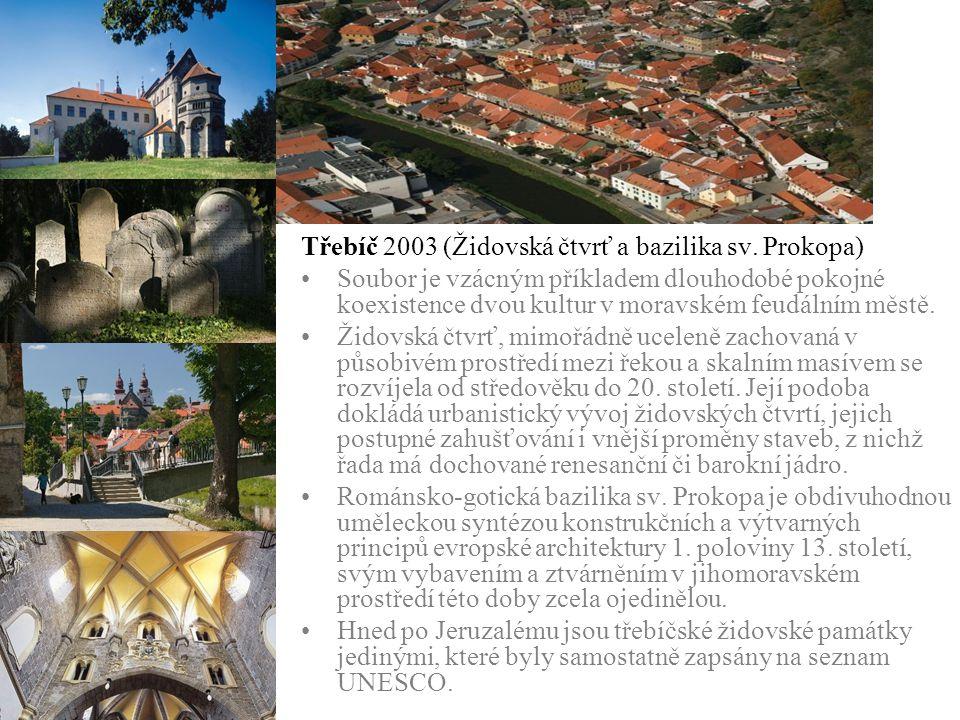 Třebíč 2003 (Židovská čtvrť a bazilika sv. Prokopa)