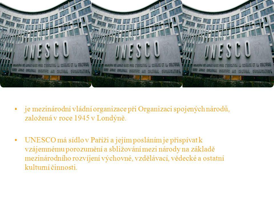 je mezinárodní vládní organizace při Organizaci spojených národů, založená v roce 1945 v Londýně.