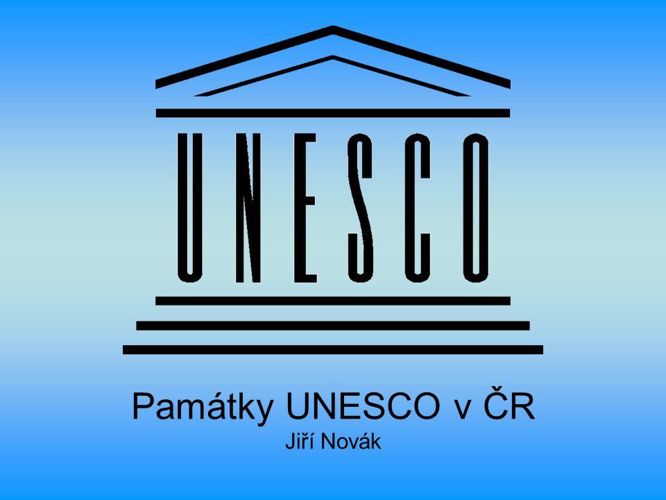 Památky UNESCO v ČR Jiří Novák