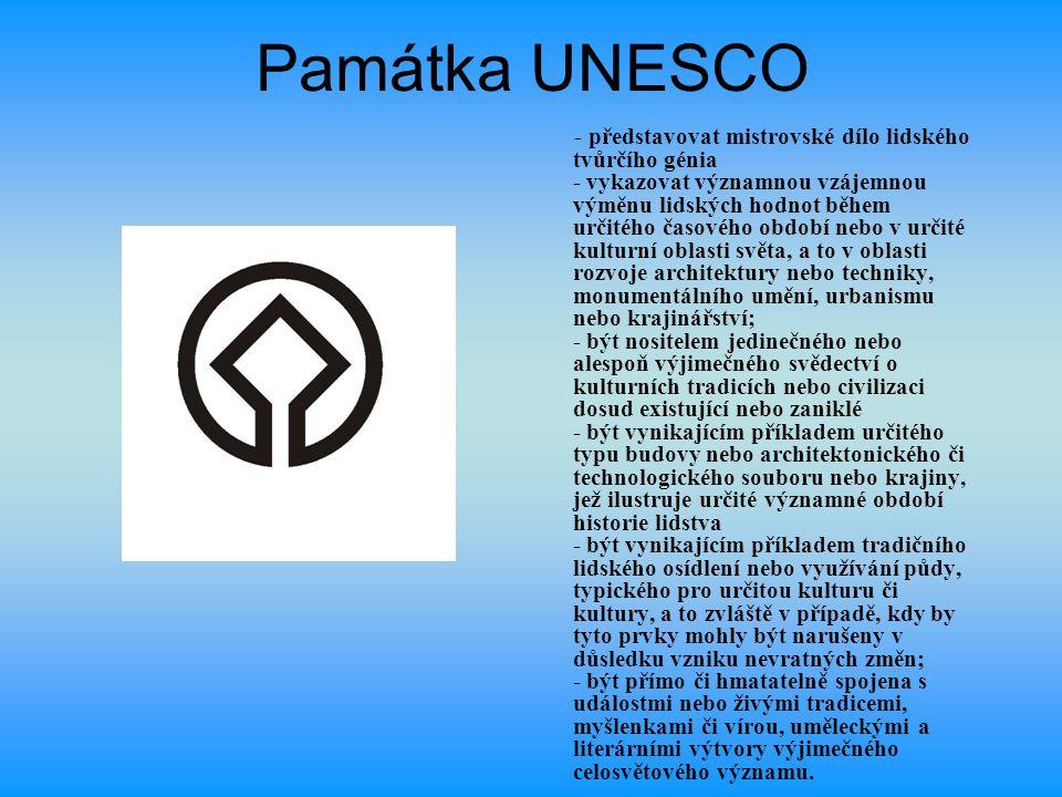 Památka UNESCO