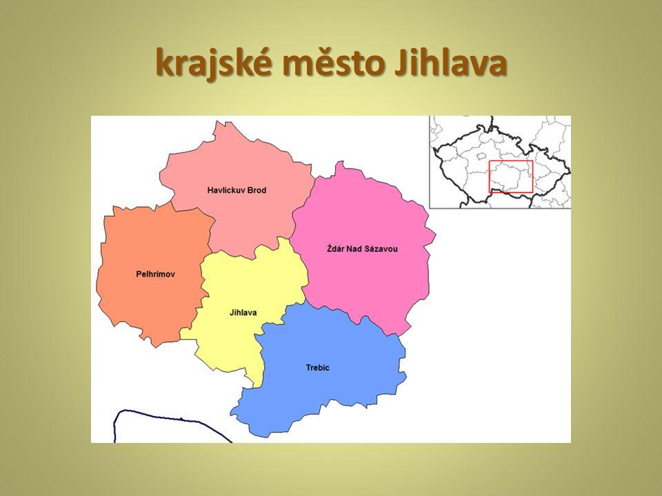 krajské město Jihlava