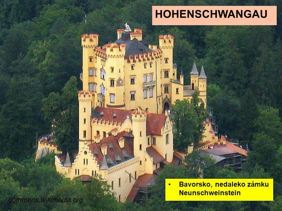Hohenschwangau Bavorsko, nedaleko zámku Neunschweinstein