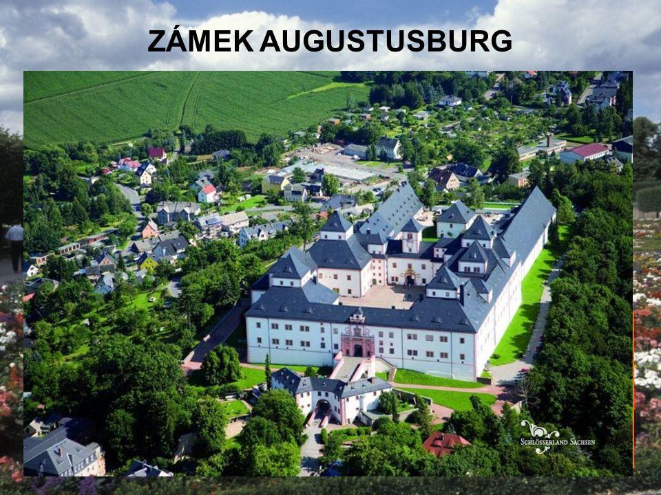 ZÁMEK AUGUSTUSBURG Sasko Největší muzeum motocyklů v Evropě