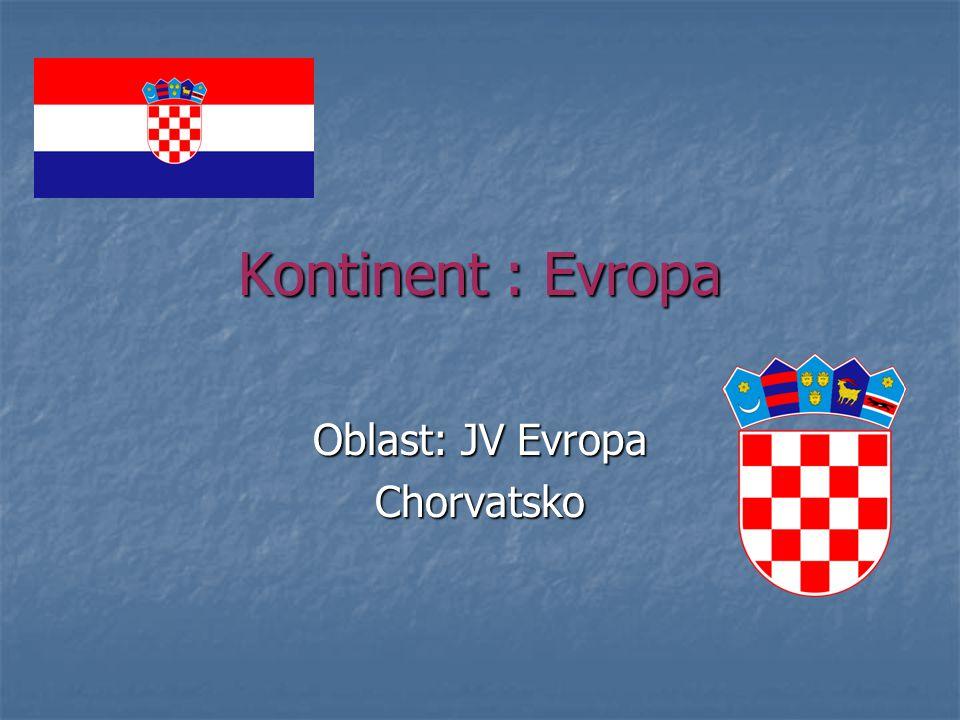Oblast: JV Evropa Chorvatsko
