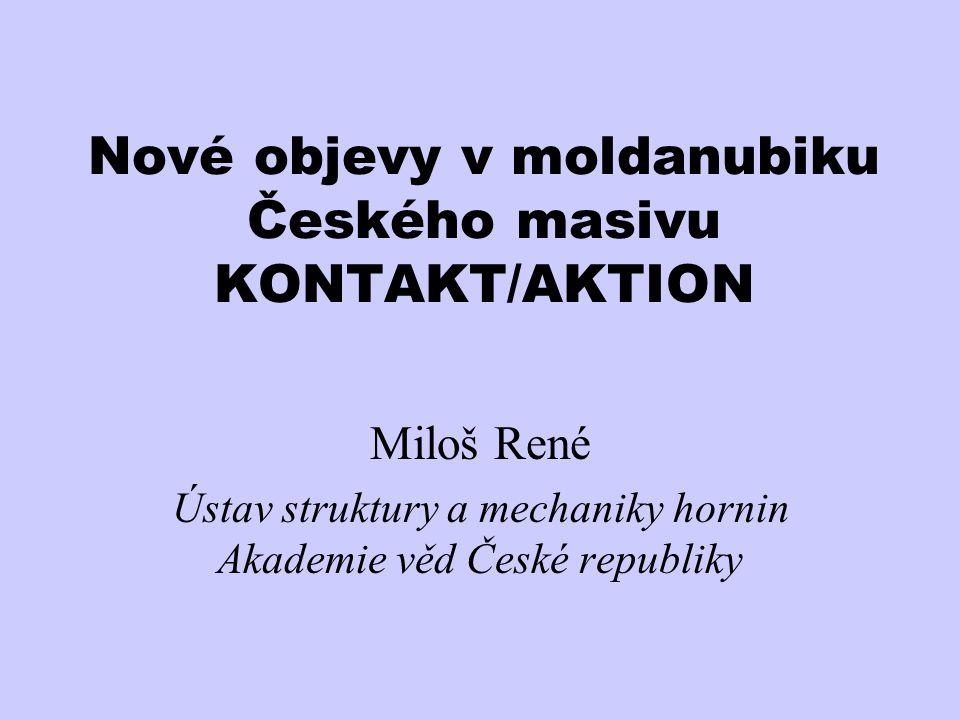 Nové objevy v moldanubiku Českého masivu KONTAKT/AKTION