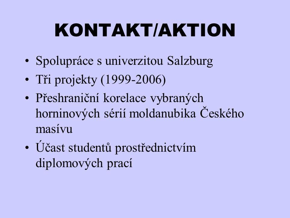 KONTAKT/AKTION Spolupráce s univerzitou Salzburg