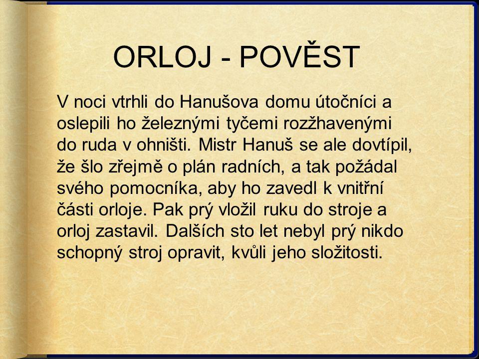 ORLOJ - POVĚST