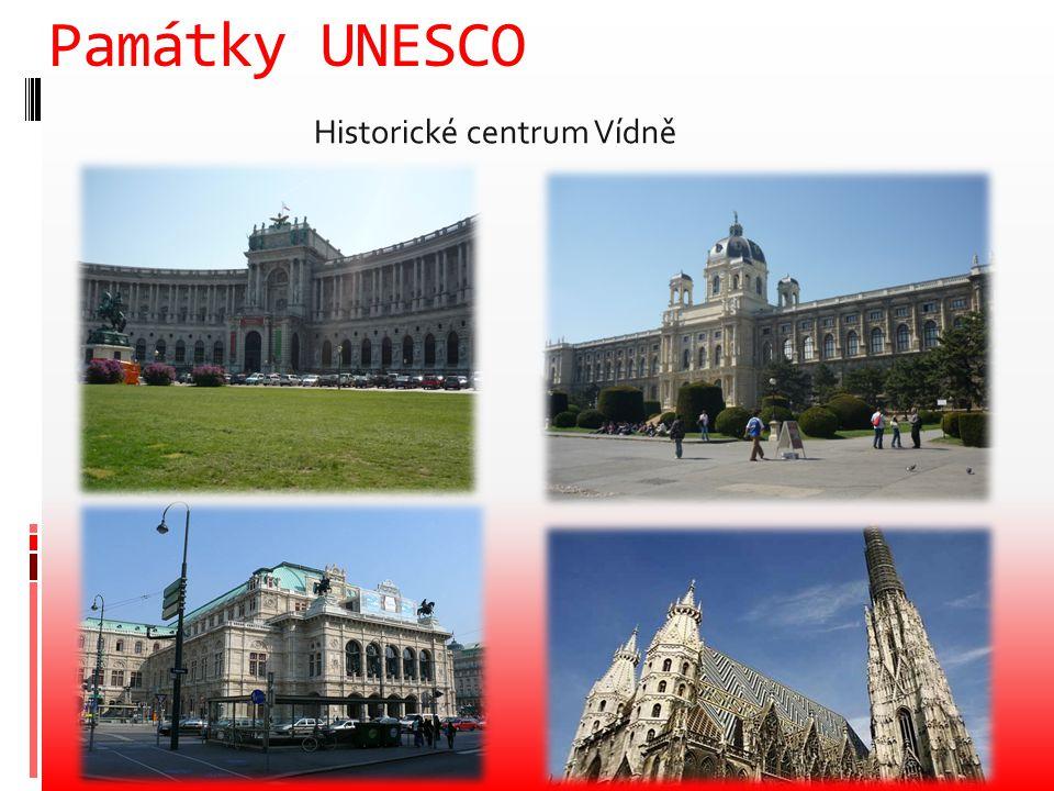 Památky UNESCO Historické centrum Vídně