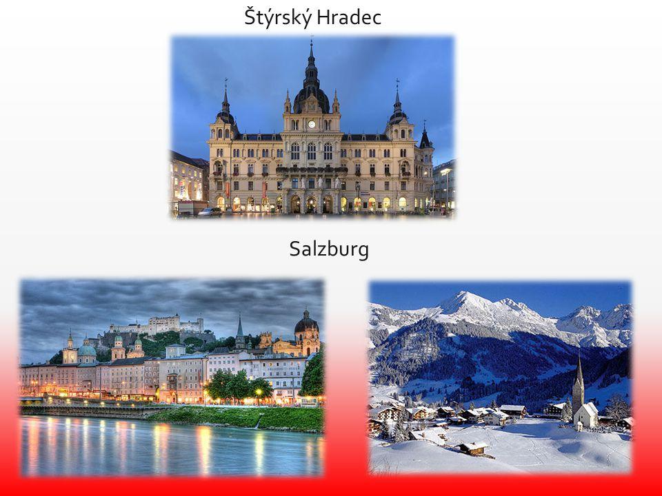 Štýrský Hradec Salzburg