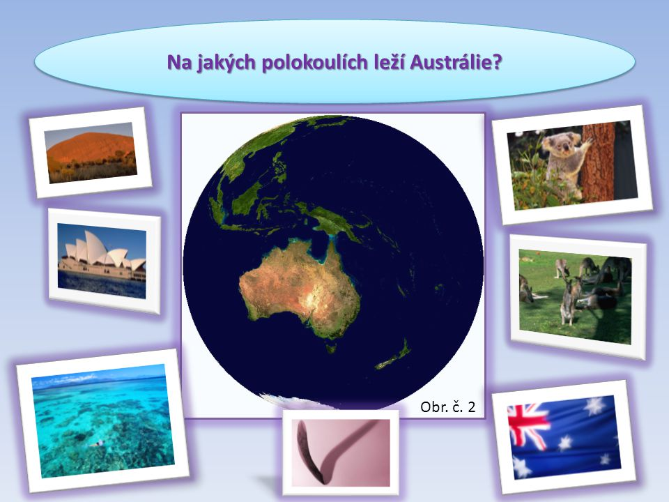 Na jakých polokoulích leží Austrálie