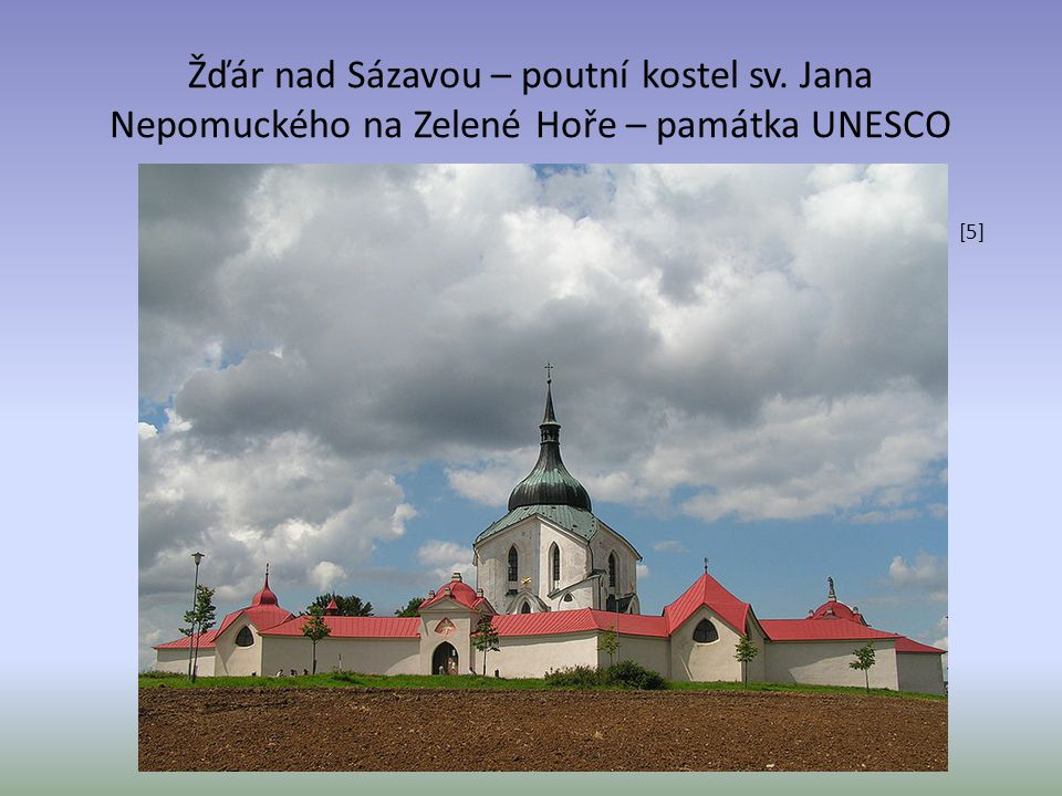 Žďár nad Sázavou – poutní kostel sv