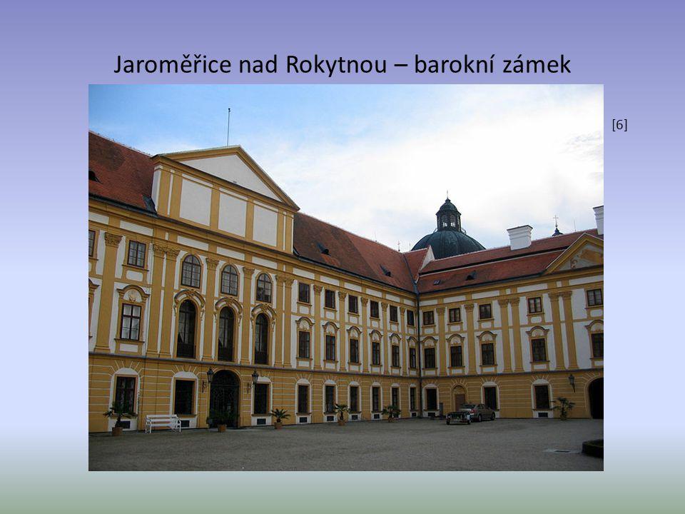Jaroměřice nad Rokytnou – barokní zámek