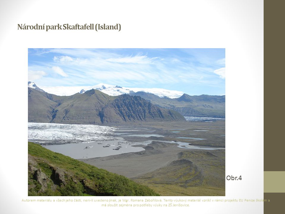 Národní park Skaftafell (Island)