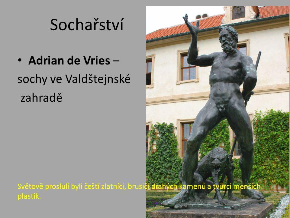 Sochařství Adrian de Vries – sochy ve Valdštejnské zahradě