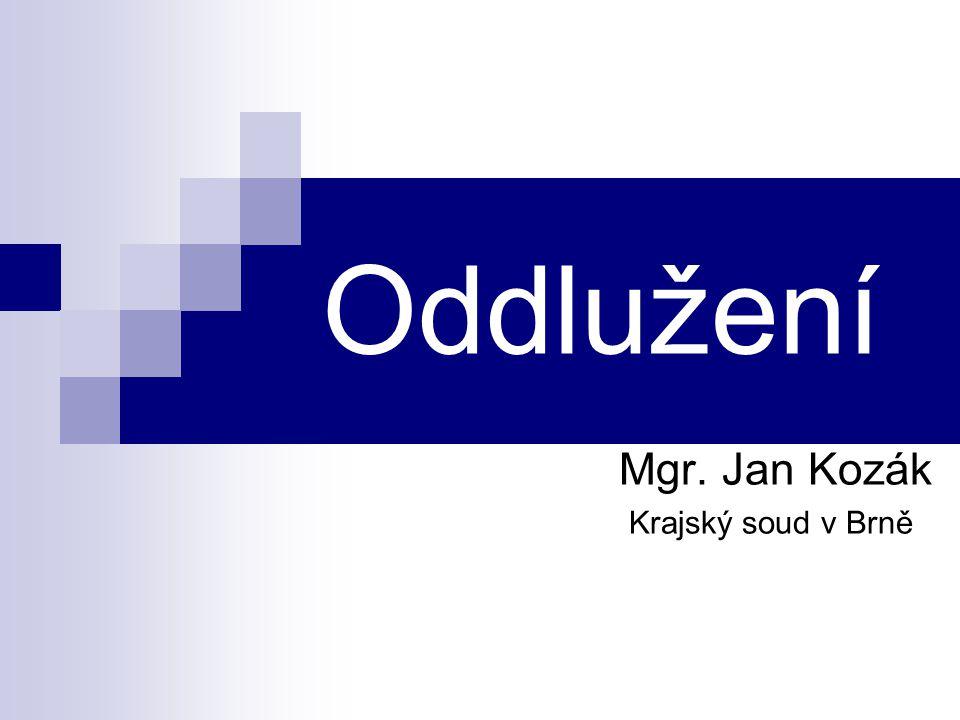 Mgr. Jan Kozák Krajský soud v Brně