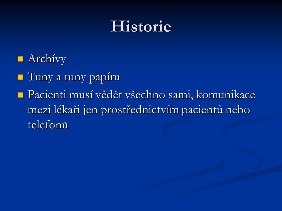 Historie Archívy Tuny a tuny papíru