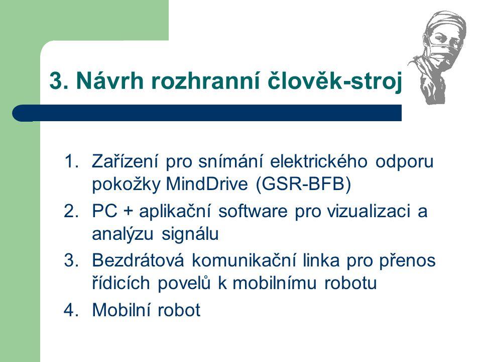 3. Návrh rozhranní člověk-stroj