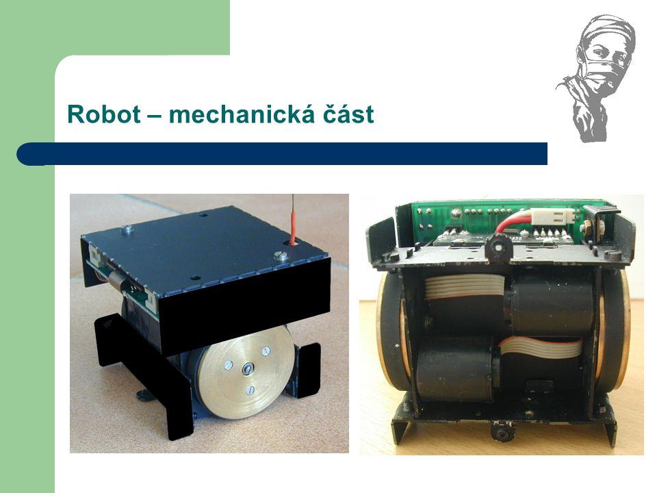 Robot – mechanická část