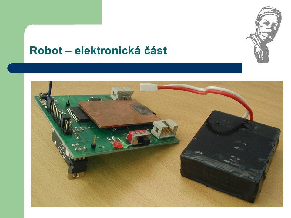 Robot – elektronická část